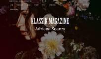 Klassik Magazine Adriana Soares