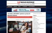 LF Magazine libro Attese e Ritorni di Adriana Soares