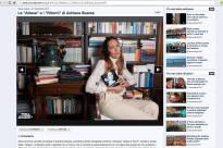 You reporter Corriere della Sera Adriana Soares
