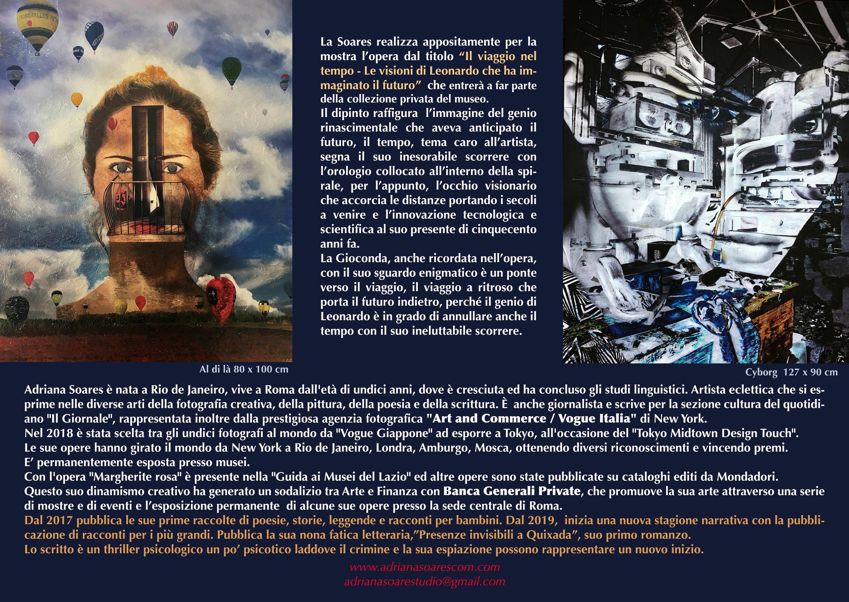 leonardo brochure Retro